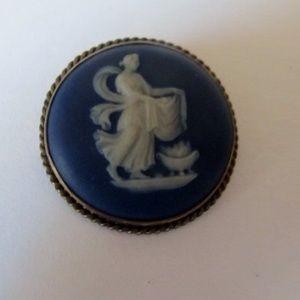 1920's Wedgewood Jasperware Brooch/ Pendant